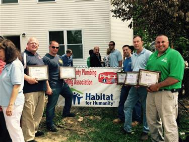 PHCC LI Proud Partner of Habitat for Humanity